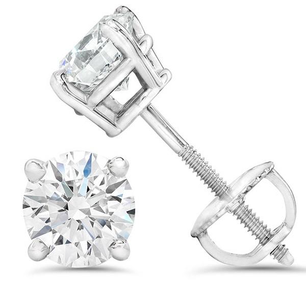 158b96480 VS Diamond Studs With Screw Back | Groupon Goods