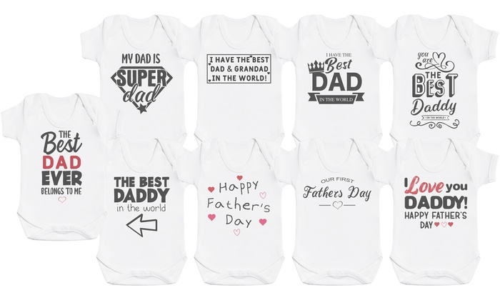Father's Day Bodysuits