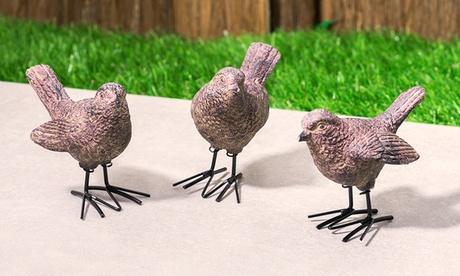 3 oder 6 Vogel-Figuren aus Harz in Wetter