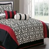 Stunning Reds Comforter Sets (7-Piece)