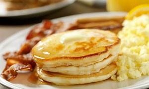 The Classic Cafe: Diner-Style Breakfast for Dinner for Two or Four at The Classic Cafe (52% Off)
