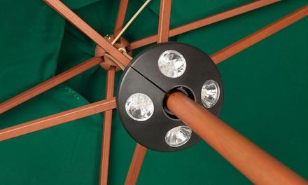 Parasol verlichting voor € 14,99 korting