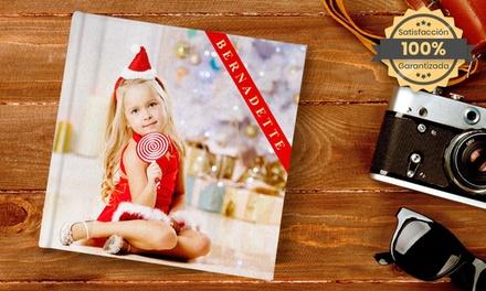 Hasta 3 fotolibros planos de 20x20 cm con hasta 40 páginas y portada de tela en Printerpix (ES)
