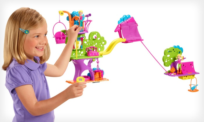 Mattel Polly Pocket Wall Party Build Up: $69 for a Mattel Polly Pocket Wall Party Starter Set ($80.98 Total Value). Free Shipping and Free Returns.