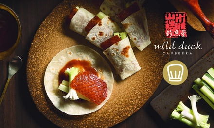 Asian Fine Dining Five-Course Degustation Menu for Two ($125) or Four People ($250) at Wild Duck (Up to $356 Value)