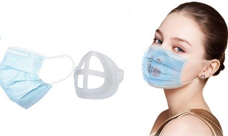 Groupon DE 2x, 4x oder 6x 3D-Einlage aus Silikon für Mundschutz-Maske