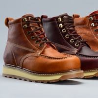 Goodyear Welt Mens Industrial Contractor Work Boots