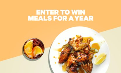 image for Enter to Win Meals for a Year at Groupon+ Restaurants