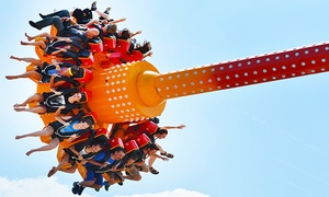Admission to Kentucky Kingdom for Out-of-State and In-State Residents at Kentucky Kingdom and Hurricane Bay, plus 6.0% Cash Back from Ebates.