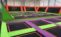 One-Hour Trampoline Park Open Jump Session for One, Two or Four at Jump Arena in Gateshead (20% Off)