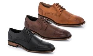 Adolfo Kodi Men's Cap Toe Oxford Shoes