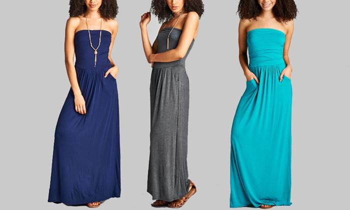 Shoppe247 Women's Strapless Ma...