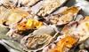 東京都/赤坂見附 ≪生牡蠣3点+牡蠣ガンガン焼き+牡蠣素焼き食べ放題&飲み放題120分≫