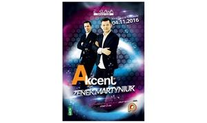 Enklawa Dance Club: Akcent: bilet dla 2 osób na koncert za 39,99 zł i więcej opcji w Enklawa Dance Club w Sosnowcu (do -33%)