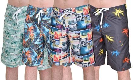 True Face Mens Swim Shorts