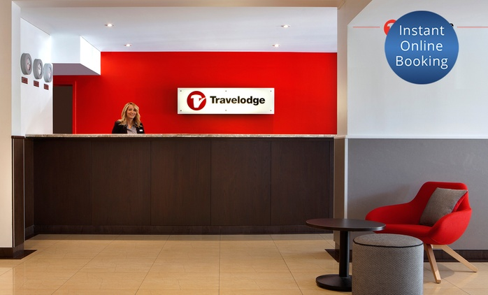 Perth, CBD: One or Two-Night Stay for Two with Breakfast and Late Checkout at 4-Star Travelodge Perth