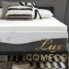"Lux Comfort  3"" Memory Foam Mattress Toppers"