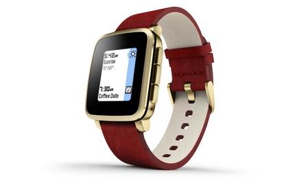 Pebblesmartwatch te gebruiken met Android en iPhone bluetooth voor € 159,99