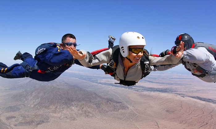 Skydive Phoenix - Skydive Phoenix: Tandem Skydive and First Jump Course for One or Two at Skydive Phoenix (Up to 39% Off)