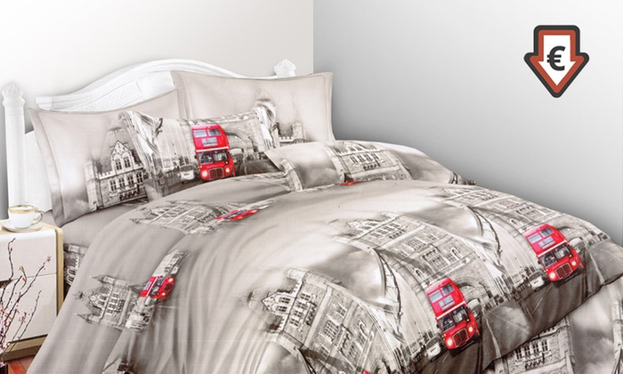 Completo Letto Matrimoniale 3d.Completo Lenzuola 3d Matrimoniale Groupon Goods