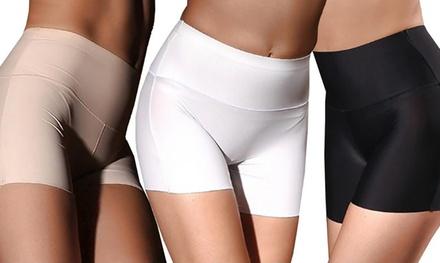1, 2 of 3 naadloze shorts voor dames