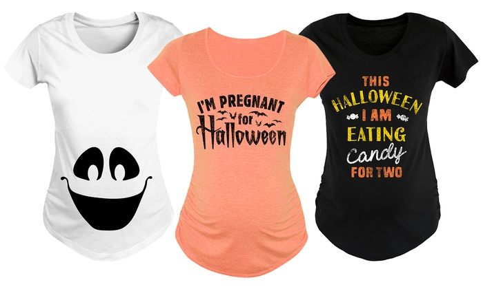 f9df217594637 Women's Halloween Maternity Tees   Groupon Goods