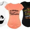 Women's Halloween Maternity Tees