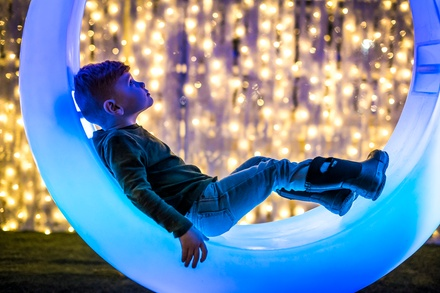 Admission to Lumaze: Lost in Lights Show for Adults and Children or Family Pass for Five (Up to 18% Off)