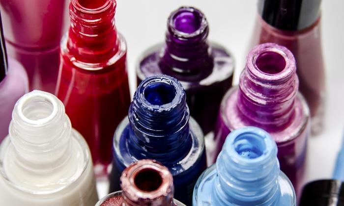 Lulu Beauty Bar - Alpharetta: A Manicure and Pedicure from LuLu Beauty Bar (52% Off)