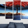 Multipanel Hand-Painted Oil Paintings or Gallery-Wrapped Canvas Prints