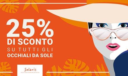 Buono da 25% su occhiali da sole Solaris
