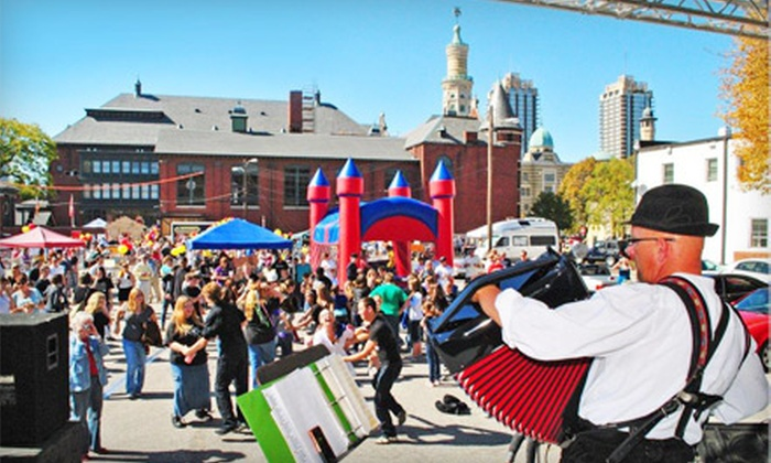 Fifth Annual Original and Fabulous GermanFest - Downtown Indianapolis: Fifth Annual Original and Fabulous GermanFest Outing with Beverage for 2, 4, or Up to 10 on October 12 (Up to 54% Off)