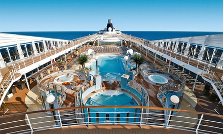 ✈ Mediterranean Cruise: 8- or 9-Night Voyage with Full Board and Return Flights at 4* Smart Hotel Holiday*
