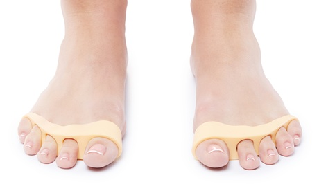 NatraCure Gel Toe Separators for Overlapping Toes and Foot Pain (1 Pair)