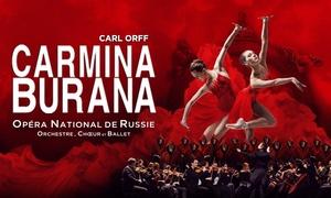 "Aramé Production: 1 plaats voor de opera ""Carmina Burana"" te Gent, Luik of Brusses vanaf €23,50"