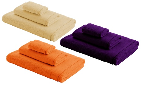 Pack de 3 toallas de algodón
