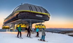 Czarna Góra Resort: Alpy w Polsce czyli stok Czarna Góra Resort: 2-godzinny karnet na trasy narciarskie od 33,99 zł i więcej opcji