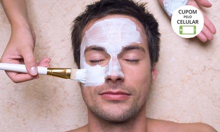 Barbearia Isac.com – Águas Claras: limpeza de pele (opção com hidratação e massagem facial)