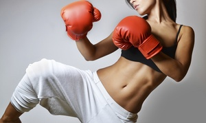 WKF Fitness : 5 or 10 Kickboxing Classes at WKF Fitness (Up to 86% Off)