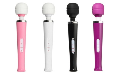 USBCharged Handheld Stick Massager