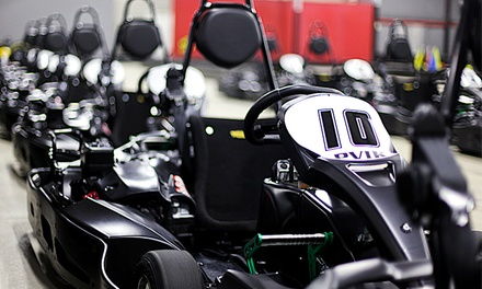 One or Two Races for Two or Four at Pioneer Valley Indoor Karting (Up to 51% Off)