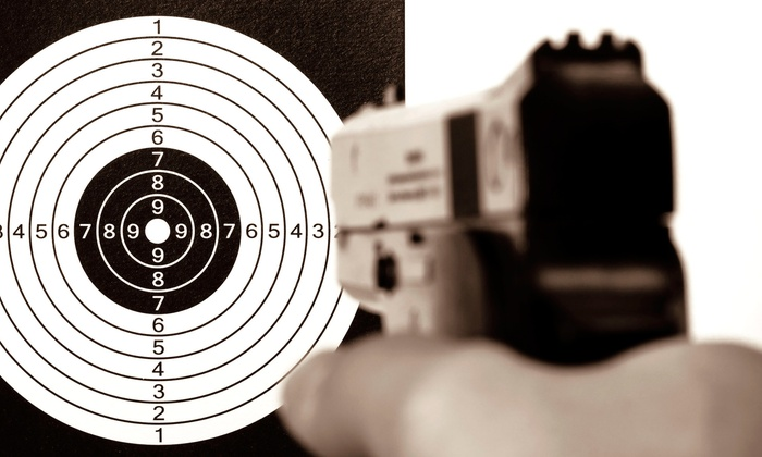 LEPD Firearms, Range & Training Facility - Columbus: $29 for Shooting-Range Package for Two Adults at LEPD Firearms, Range & Training Facility ($54 Value)