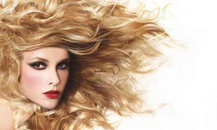 Forfait coiffure avec coloration ou balayage de surface en option, ou formule VIP dès 39,99 € au salon Lawrence Kazan