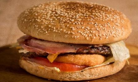 Menu hamburger di Angus scozzese a 20,90€euro