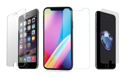 Verres trempés pour tous les modèles Apple iPhone, livraison gratuite