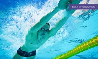 Five Swim Passes with Move GB, Multiple Locations (Up to 72% Off)