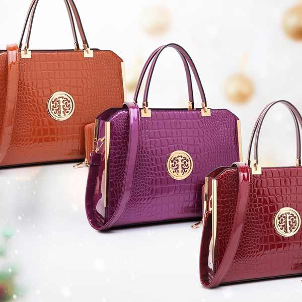 26ac6ceaeb2c Up To 79% Off on Handbag with Matching Wallet | Groupon Goods