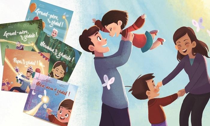 1, 2, 3, 5 ou 10 livres pour enfants personnalisés, dès 9,99 €
