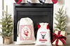 Up to 86% Off Custom Drawstring Santa Gift Bags from Qualtry