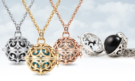 Poetic Sphere Necklace in Rose Gold, Silver, or Gold (0% Off)
